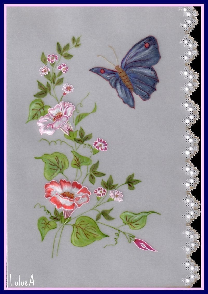 Pergamano papillon et broderie richelieu modele de broderie gratuit a imprimer - Modele de papillon ...
